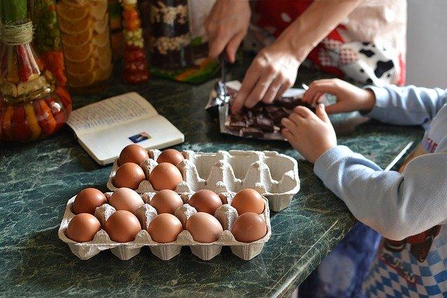Cucinare con i bimbi